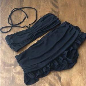 Juicy Couture black bikini sz S